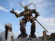 Phi thường - kỳ quặc - TQ làm robot Tôn Ngộ Không khổng lồ như trong... phim Mỹ