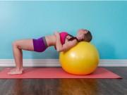 Làm đẹp - 5 bài tập giúp ngực nở, eo thon, mông săn chắc