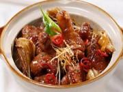 Ẩm thực - Đổi món cơm trưa với đùi vịt kho măng khô ngon tuyệt