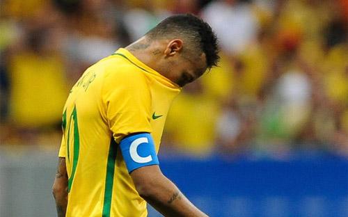 Phòng thay đồ Olympic Brazil lục đục vì Neymar
