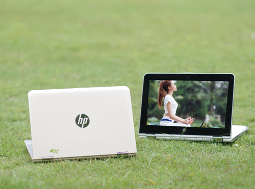 "Ra mắt laptop ""biến hình"" HP Pavilion X360, chip Skylake"