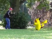 """Video Clip Cười - Theo chân """"yêng hùng"""" đi lùng Pokémon"""