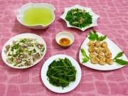 Ẩm thực - Thực đơn cho bữa cơm chiều trôi cơm