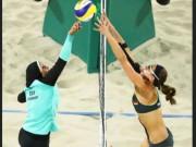 Thể thao - Bóng chuyền bãi biển Olympic, bikini đấu khăn trùm kín mít