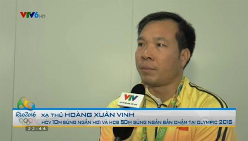 BXH Olympic: Hoàng Xuân Vinh đưa VN đứng ngang Brazil