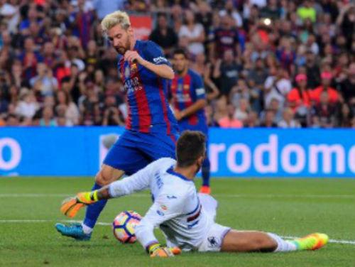Barca - Sampdoria: Niềm cảm hứng Messi