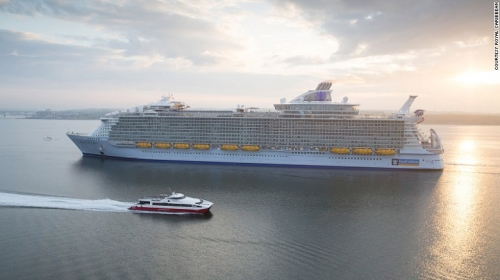 Du thuyền lớn nhất thế giới hoành tráng cỡ nào? - 1