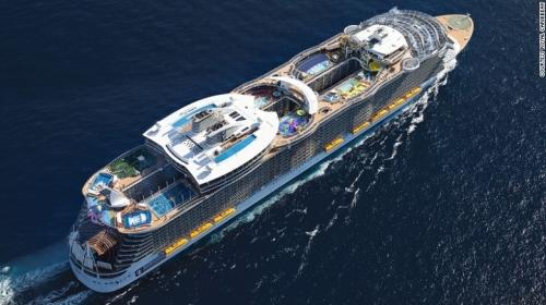 Du thuyền lớn nhất,du thuyền hoành tráng cỡ nào