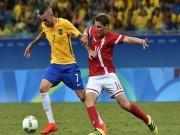 """Bóng đá - Brazil - Đan Mạch: Không thể ngăn """"bão"""" Samba"""