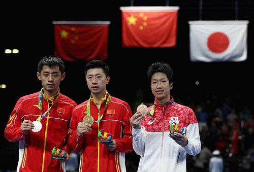 Giành HCV Olympic, Ma Long có trọn bộ Grand Slam bóng bàn - 2