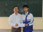 Bạn trẻ - Cuộc sống - Chàng trai nghèo học giỏi nhất lớp 100% học sinh đỗ ĐH