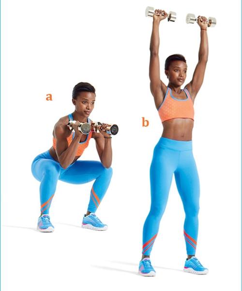 Săn chắc toàn bộ cơ thể với 15 phút tập tạ mỗi ngày - 1