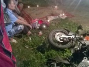 Tin tức trong ngày - Xe tải tông xe máy, 3 người một gia đình thương vong