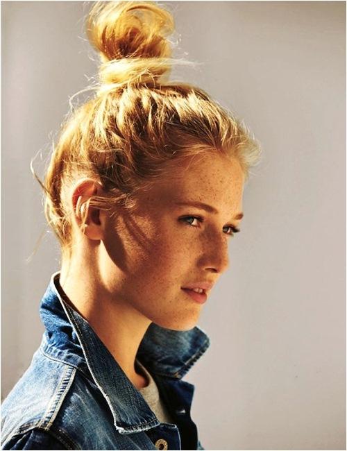 4 kiểu búi tóc sành điệu chỉ dành riêng cho nàng tóc ngắn - 3