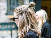 Làm đẹp - 4 kiểu búi tóc sành điệu chỉ dành riêng cho nàng tóc ngắn