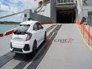 """Tin tức ô tô - Honda Civic X """"lộ diện"""" trước giờ tới Mỹ"""