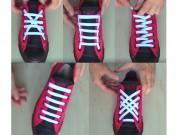 Thời trang - 5 cách thắt dây giày đỉnh cao mà ít người biết