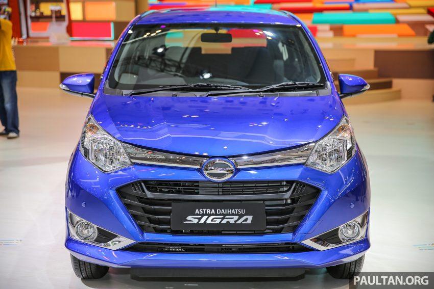 Ra mắt Daihatsu Sigra - Cặp song sinh với Toyota Calya - 1