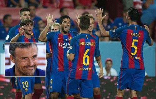 Barca thắng Sevilla: Sức mạnh chiều sâu đội hình
