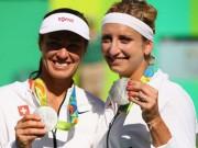 Olympic 2016 - Tennis Olympic ngày 9: Hingis giành HCB