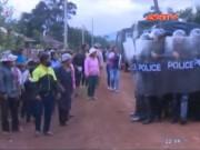 Video An ninh - Cả chục CSCĐ bị thương khi bắt nghi phạm giết kiểm lâm