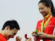 Thể thao - VĐV nhảy cầu Trung Quốc đoạt HCB, được cầu hôn tại chỗ