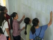 Giáo dục - du học - Công bố điểm chuẩn các trường khối Công an nhân dân