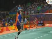Thể thao - Lin Dan gây chú ý: Vừa đấu Tiến Minh vừa thay vợt