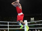 Thể thao - Võ sĩ quyền Anh ăn mừng hệt Ronaldo ở Olympic