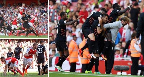 Hạ Arsenal 4-3, Liverpool bị dự đoán sẽ xuống hạng
