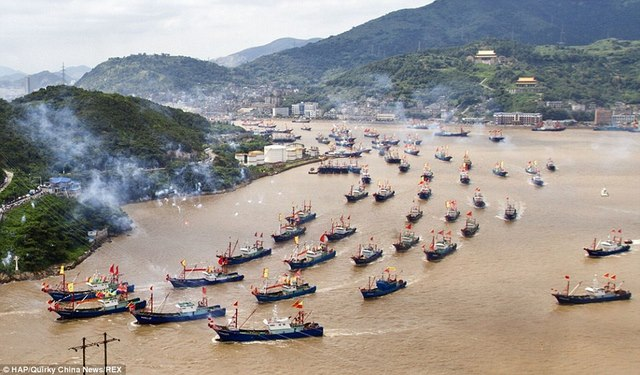 Nhân quốc khánh, Indonesia đánh chìm 71 tàu cá nước ngoài - 3