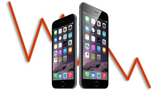 Doanh số bán iPhone sụt giảm, các nhà cung cấp bị ảnh hưởng nặng