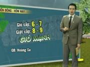 Tin tức trong ngày - Dự báo thời tiết VTV 16/8: 24 giờ tới, áp thấp mạnh lên thành bão