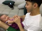 """Ca nhạc - MTV - Ưng Hoàng Phúc đảm đang làm ông bố """"bỉm sữa"""""""