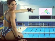 Thể thao - Sự cố có một không hai của nữ VĐV nóng bỏng Brazil