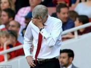 Bóng đá - Bão chấn thương, bế tắc chuyển nhượng: Wenger khốn khổ