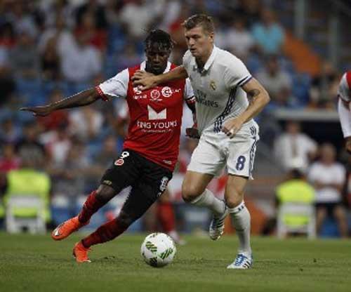 """Real - Reims: """"Tiệc"""" bàn thắng chào mùa giải mới"""