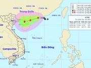 """Tin tức trong ngày - Tin mới nhất về áp thấp nhiệt đới """"kép"""" trên Biển Đông"""