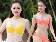 Thời trang - Top 33 Hoa hậu Việt Nam mơn mởn với bikini