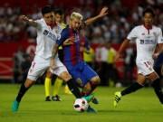 Bóng đá - Barca - Sevilla: Phô diễn và nâng cúp