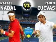 Thể thao - Nadal- Cuevas: 2 set đối lập (V2 Cincinnati)