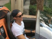Bóng đá - Ronaldo khoe clip lái siêu xe 50 tỷ VNĐ