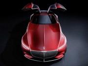 """Tin tức ô tô - """"Tuyệt tác"""" Vision Mercedes-Maybach 6 lộ diện"""