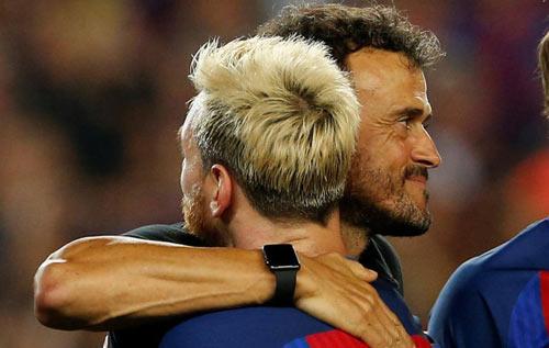 """Enrique ở Barca: Thực tài hay """"ăn may"""" nhờ Messi"""