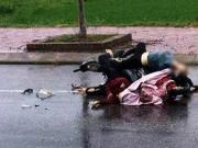 Tin tức trong ngày - Phát hiện chiếc xe máy kẹt giữa thi thể 2 cô gái