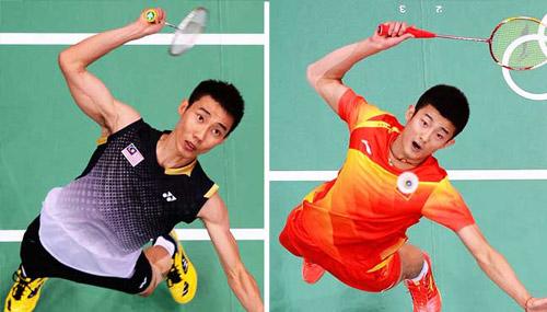 Tin nóng Olympic ngày 15: Kinh điển Lee Chong Wei - Chen Long - 1