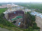 Tài chính - Bất động sản - Khách sạn nửa tỷ USD dưới hố sâu 100m ở Trung Quốc