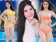 Thời trang - Nét đẹp xuân thì của 3 cô gái vừa bỏ thi Hoa hậu VN