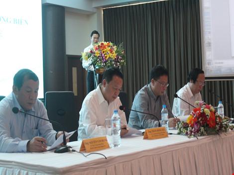 Đang công bố hiện trạng môi trường biển 4 tỉnh miền Trung