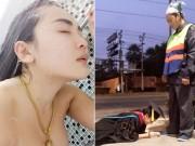 Bạn trẻ - Cuộc sống - Sốc ảnh ăn chơi của hot girl Thái lạy mẹ nhặt rác